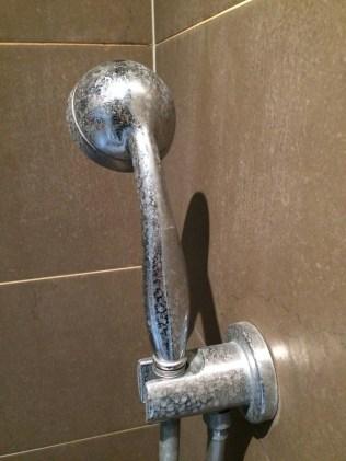douche calcaire