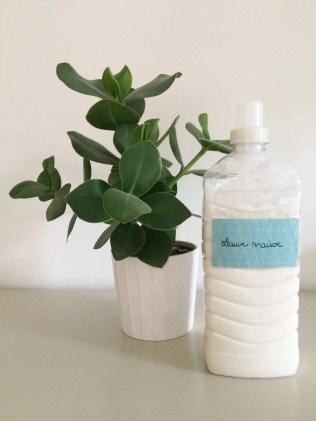 Réalisation de gel lessive aux ateliers de Gen pour un ménage au naturel