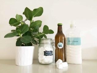 Réalisation de produits ménagers aux ateliers de Gen pour un ménage au naturel