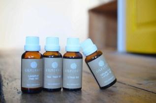 choix d'huiles essentielles