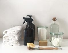 ménage naturel minimaliste