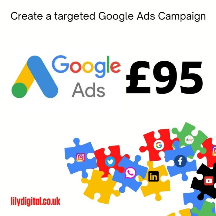 Create a targeted Google Ads Campaign Lily Digital