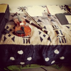 Had the chance to pick my musical instruments up for the first time in a long time