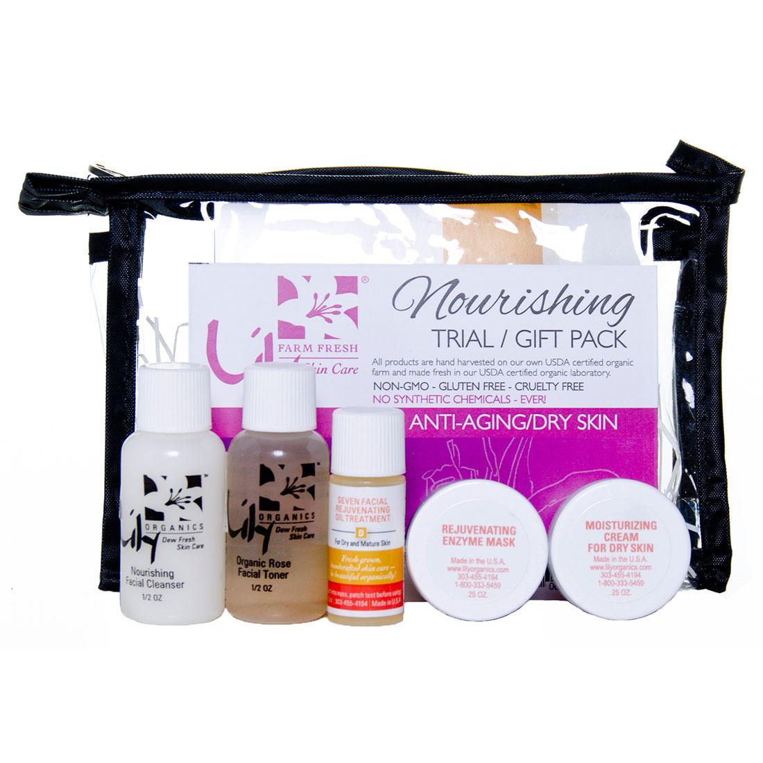 Organic Nourishing Trial Pack