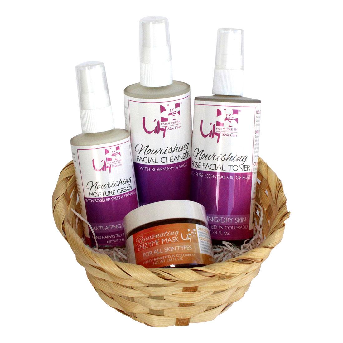 Organic Nourishing gift basket