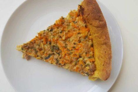 Tarte à la julienne de légumes - Lilygourmandises - blog culinaire