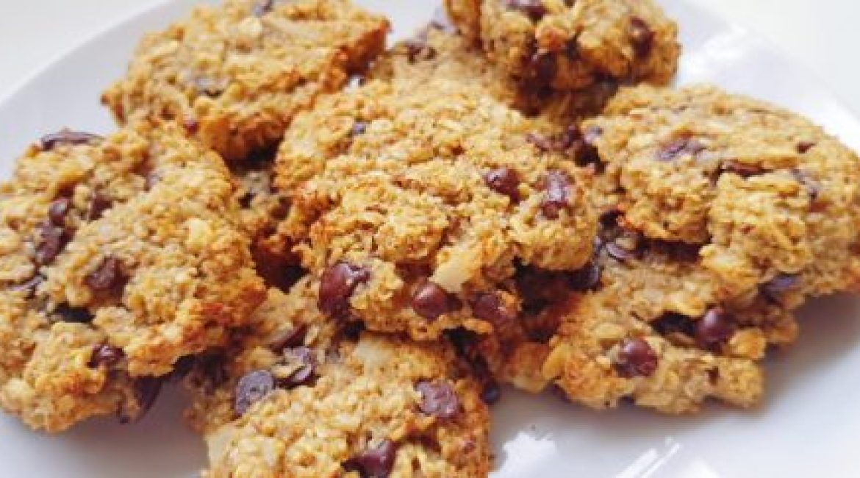 Cookies muesli aux pépites de chocolat