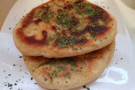 recette naan au poulet curry, lilygourmandises blog culinaire recettes faciles