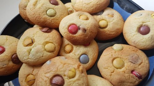 recette cookies aux smarties marmiton lilygourmandises blogculinaire