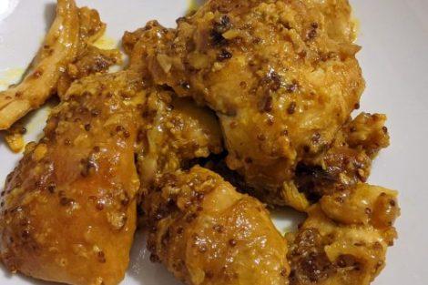 Poulet parguit moutarde miel au cookeo ninja foodi