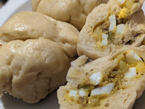 benh bao brioche vietnamienne au cookeo, brioche au cookeo, recette benh bao