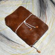 Hair-On Cow Hide, Olive Wood