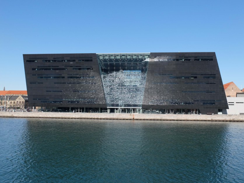Royal Library, Denmark also known as the Black Diamond