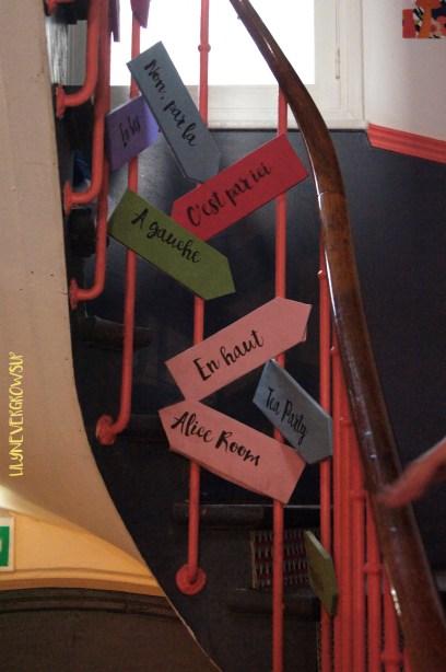 Escalier Pavillon des Canaux