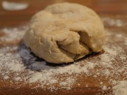 Knead the bread for 5 - 10 mins.