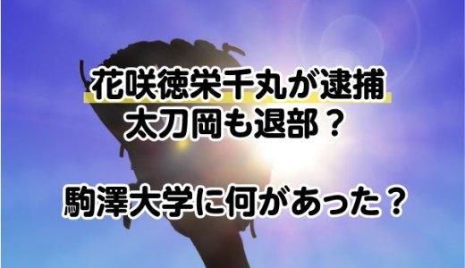 花咲徳栄千丸が逮捕&太刀岡も退部?駒澤大学に何があった?