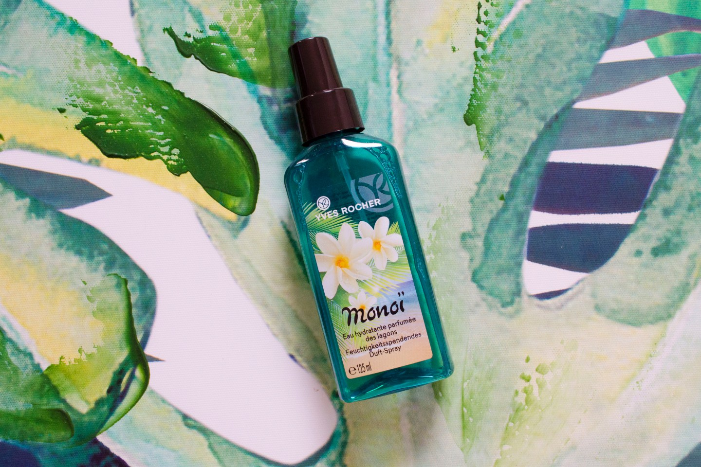 BEAUTY | CLOSE UP: Lagoon Moisturizing Perfumed Body Mist by Yves Rocher