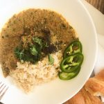 Tomatoe Basil Soup Transformation into Seafood Pasta Dish