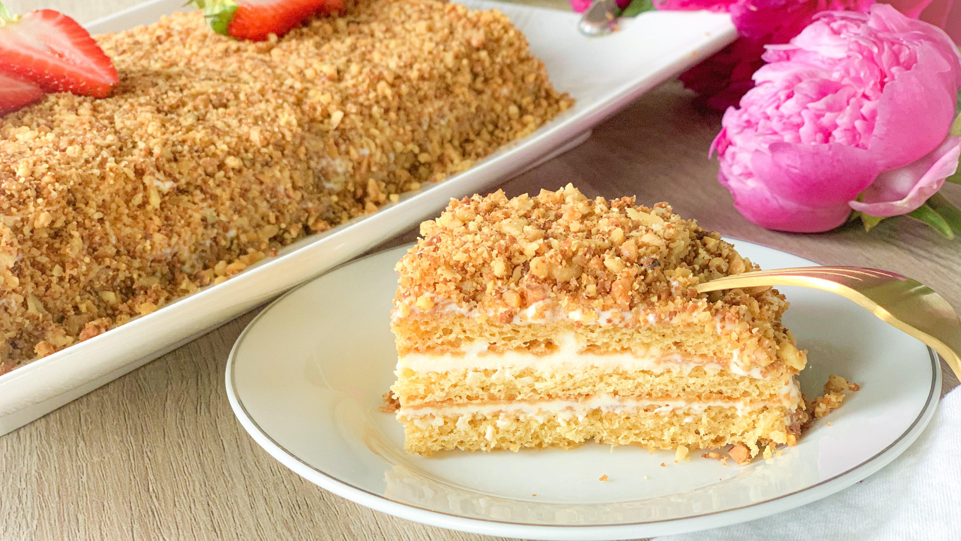 Honey Cake – under 30 minutes to make