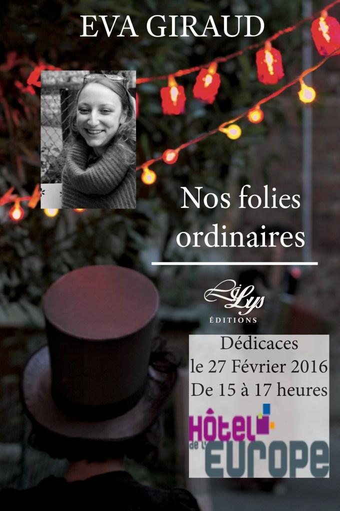 Poster Dédicaces Eva Rouen