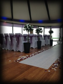 Aisle Runner, Wedding central Scotland - Lily Special Events