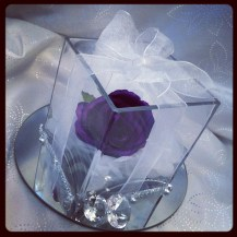 Gift vase, wedding centrepiece, Glasgow - Lily Special Events
