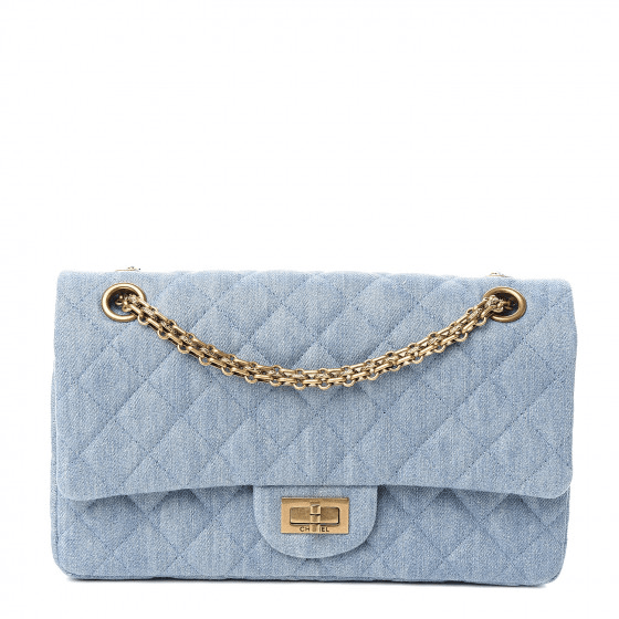 Fashionphile Fabulous Finds - September - Chanel Denim Quilted 2.55 Reissue