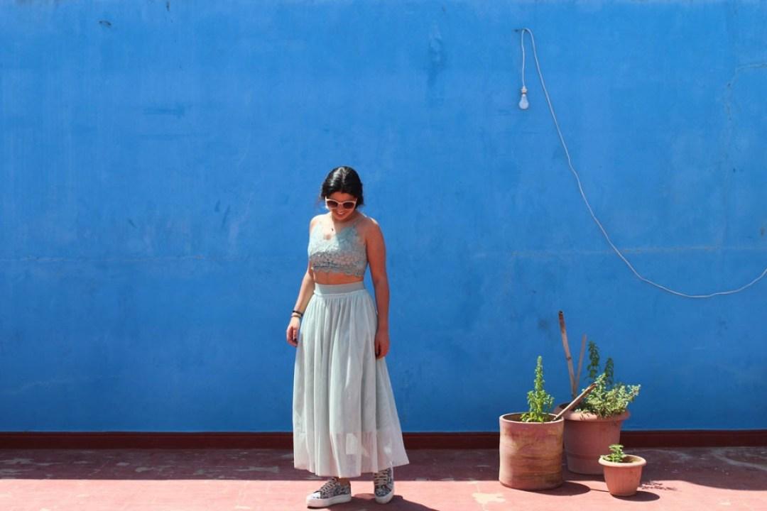 lilytoutsourire comment porter la jupe longue 2