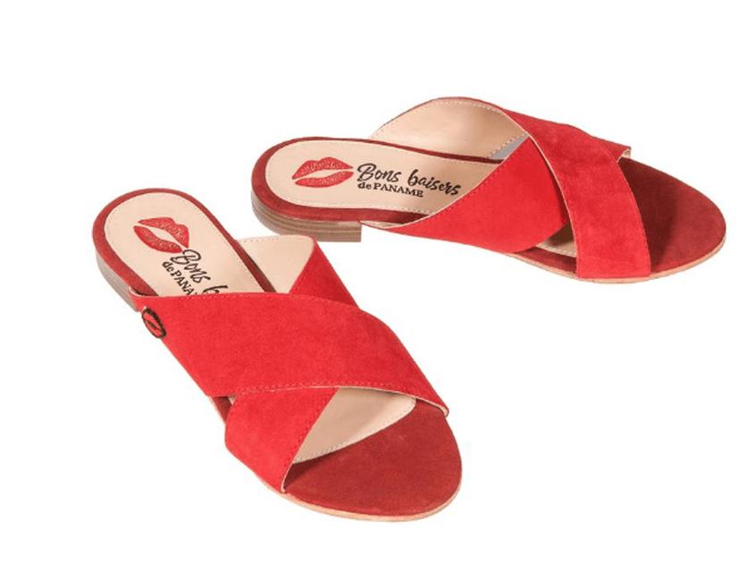 Sandales Rouge GRAZIA