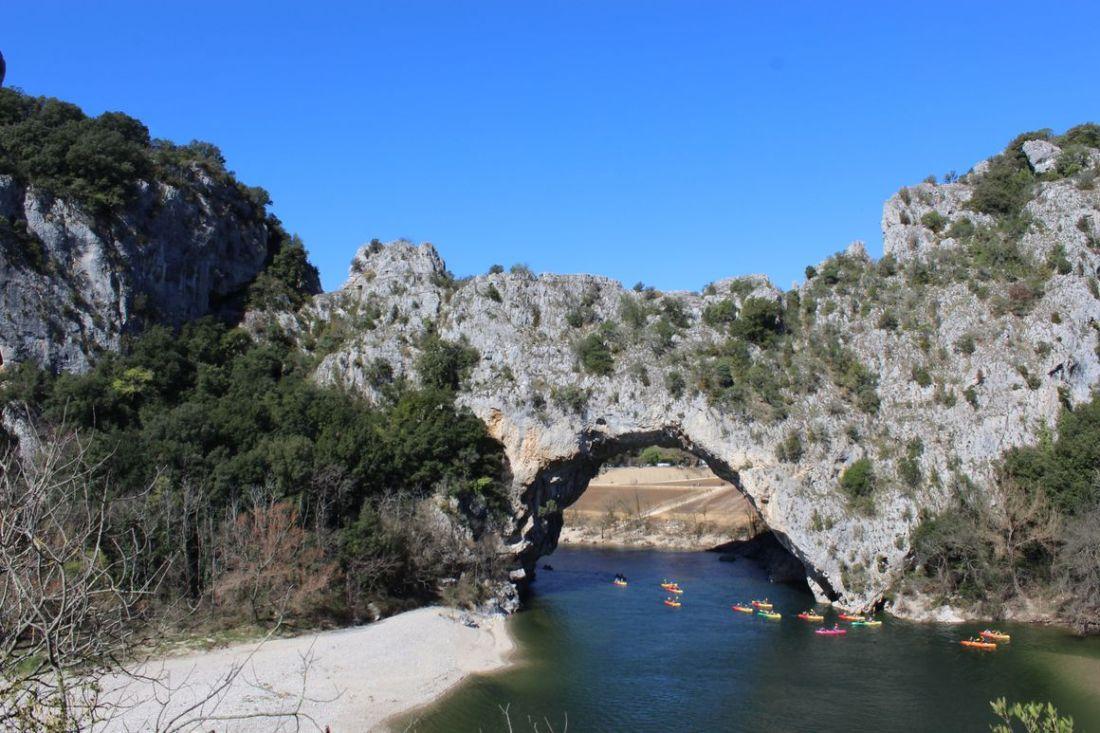 ROADTRIP SUD DE LA FRANCE - vallon pont d'arc - ardèche - LILYTOUTSOURIRE