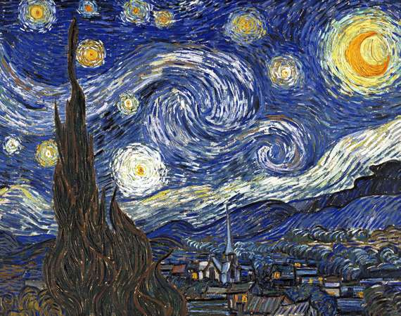 Van Gogh painting of the Starry Night