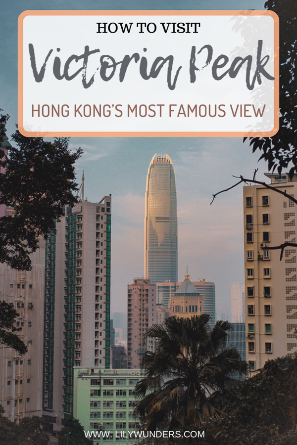 Victoria Peak in Hong Kong is the city's most popular viewpoint. If you need a detailed guide on exactly how to get there (with photos and details on what to expect), this post is for you! #HongKong #HongKongTravel #VictoriaPeak #VictoriaPeakHongKong #Hikinghongkong