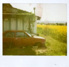Old Red Car 2012