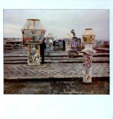 Us Hiding In Alatini's Factory Terrance 2011