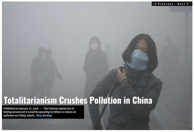 Image Lima Charlie News Headline China pollution JAN 27 2018