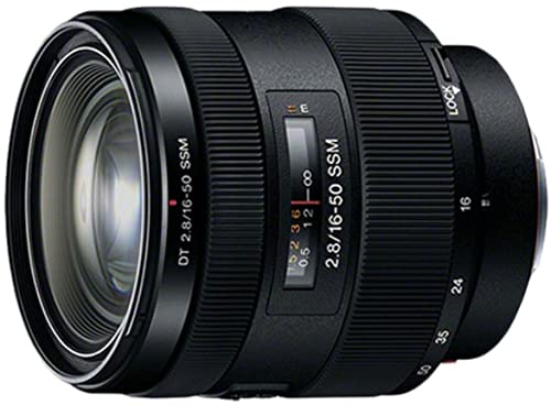 Sony 16-50mm f/2.8 Standard Zoom Lens for Sony A-Mount Cameras (Sony Camera Lenses)