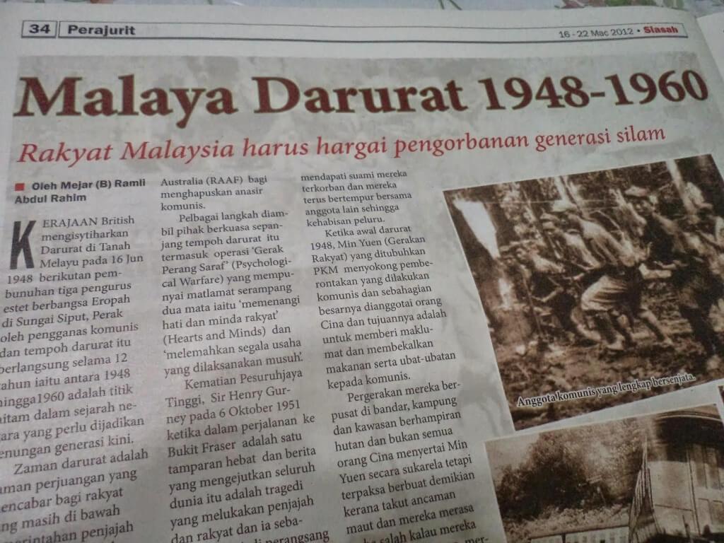 Malaysia darurat