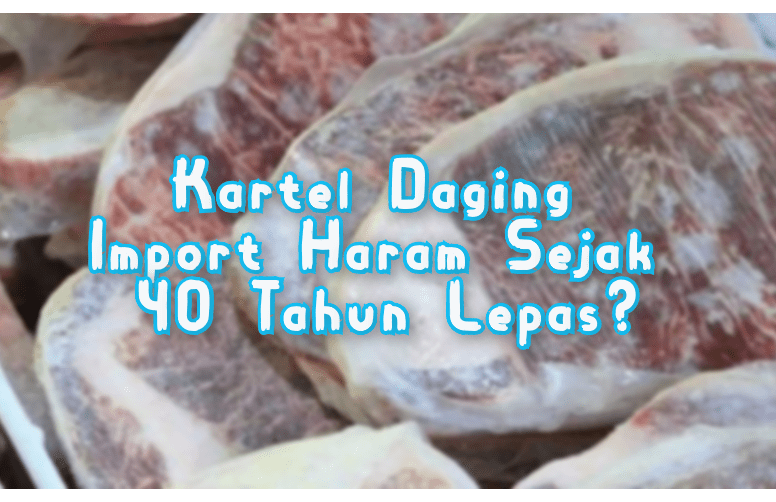 kartel import daging haram