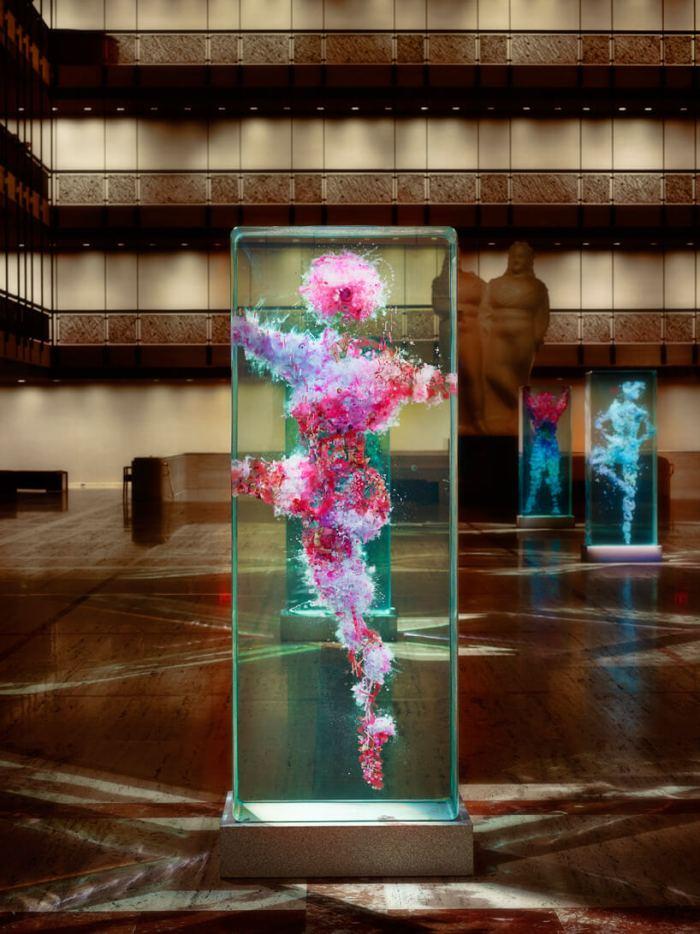 dustin yellin limaocravo esculturas em vidro