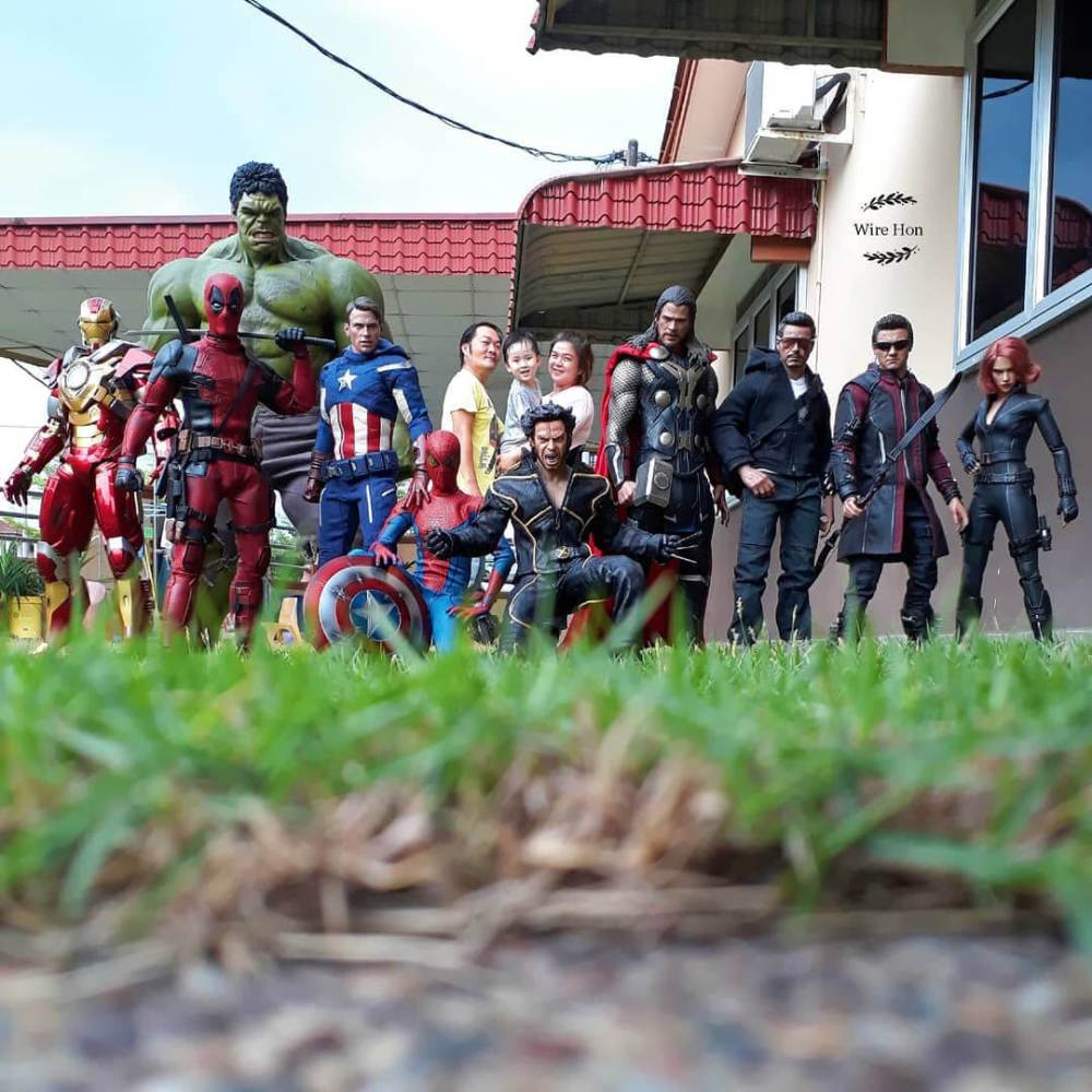Heróis e perspectiva