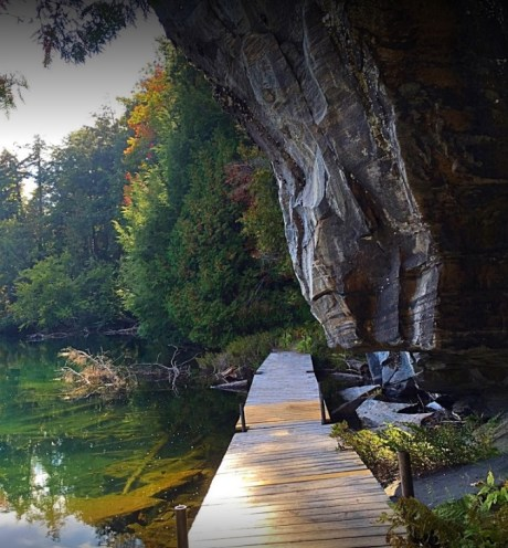 Solitaire Lake Trail Fall