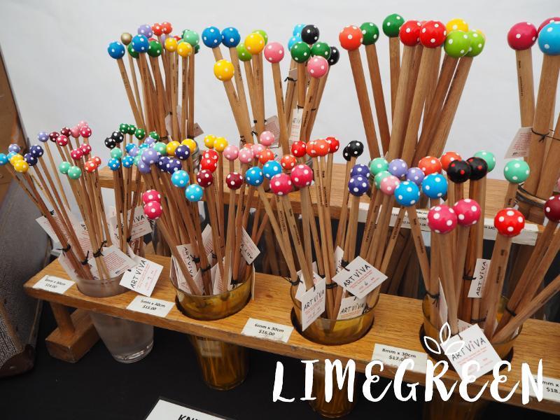 サラマンカマーケットの編み棒