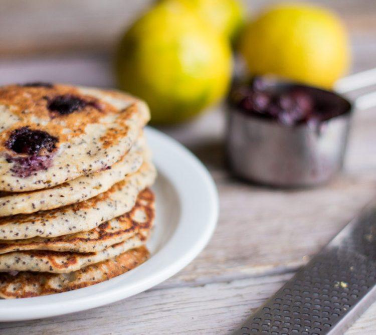 Citrus Poppy Seed Pancakes