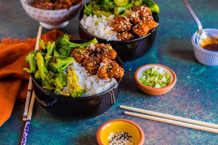 Teriyaki Sticky Rice bowl
