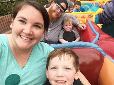 Mallard family annual trip to Disney World