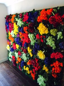 Spring Floral Wall