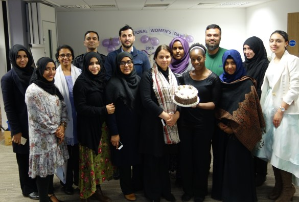 Group photo of Limehouse Project staff