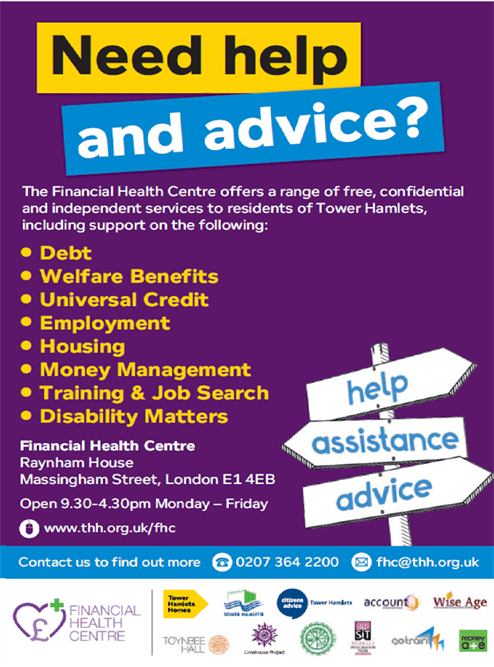Financial Health Centre Poster