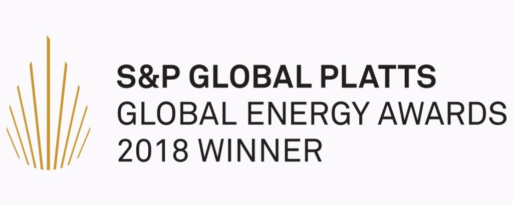 2018 Platts Award Winner