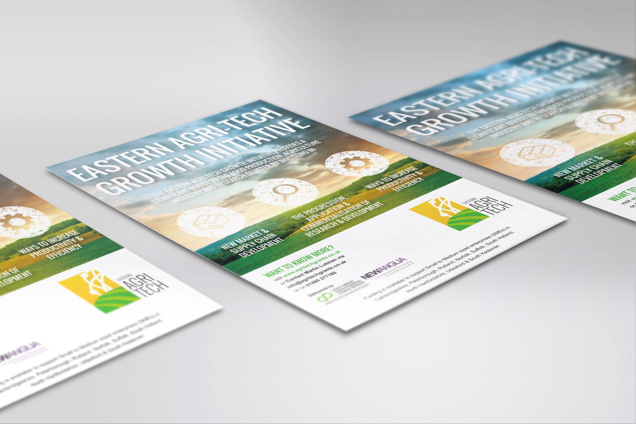 agri tech flyer booklet leaflet ideas in suffolk limelight design